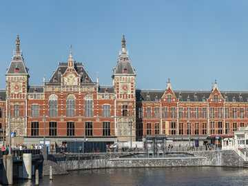 Amsterdam Central Station Holandia - Amsterdam Central Station Holandia