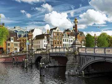 Amsterdam Bridge Holandia - Amsterdam Bridge Holandia