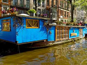 Péniche Amsterdam Pays-Bas - Péniche Amsterdam Pays-Bas
