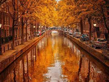 Amsterdam im Herbst - Amsterdam im Herbst Niederlande