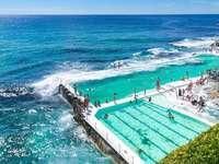 Oceaan zwembad - Hotelcomplex in Australië