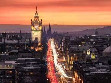 Edimburgo - New Town, Edimburgo. Escocia