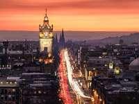 Edinburgh - Újváros, Edinburgh. Skócia