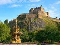 Edimburgo - Castelo de Edimburgo, Escócia.