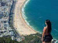Morro Dois Irmãos - Rio de Janeiro - Brazilië - Morro Dois Irmãos - Rio de Janeiro - Brazilië