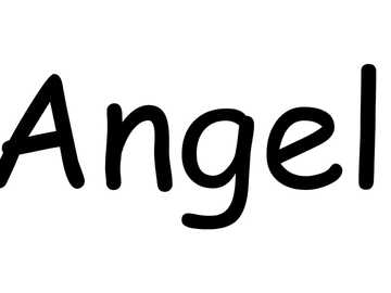 MY NAME IS ANGEL - I RECOGNIZE MY NAME THROUGH PUZZLES