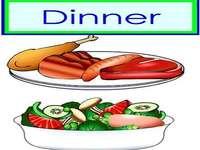 d je k večeři masový salát - lmnopqrstuvwxyzlmnop