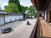 Nanzen-Ji - Zan-tempel, belägna i Higashiyama-kullarna