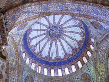 Stambuł - Błękitny Meczet w Stambule.