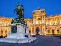 Wien, Österrike - Hofburg, Wien Österrike