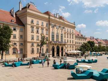 Wien, Österreich - Museumsquartier, Österreich