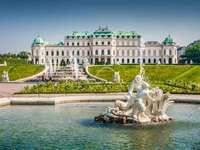 Wien, Österrike - Schloss Belvedere, Wien