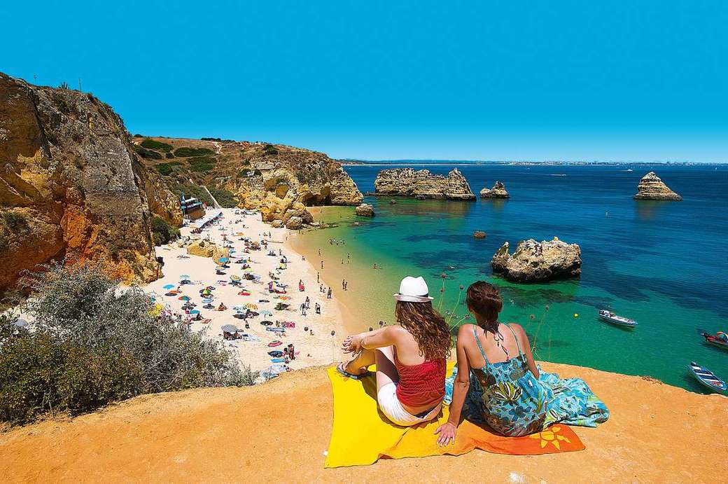 vue sur la plage portugaise - m .......................