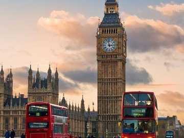 << London >> - Puzzle. Bau von London.