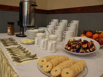 meal for a conference or meeting - m .........................