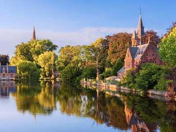 Bruges Park i Belgien - Bruges Park i Belgien
