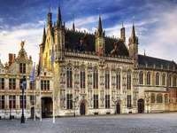 Ratusz w Brugii, Belgia