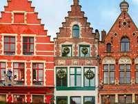 Centrum Brugii Belgia