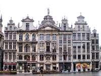 Historic buildings in Brussels