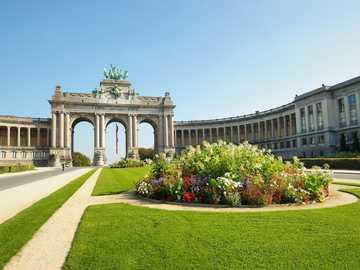 Triumfbåge i Bryssel - Triumfbåge i Bryssel
