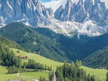 Hory Dolomity mot Itálii - Hory Dolomity mot Itálii
