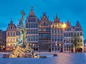 Bâtiments historiques Anvers - Bâtiments historiques Anvers