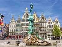 Historical buildings Antwerp