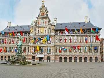 Historical building Antwerp - Historical building Antwerp