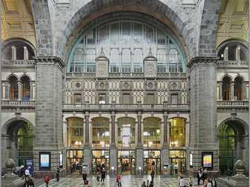 Central train station in Antwerp - Central train station in Antwerp