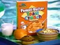 p é para crocante de manteiga de amendoim