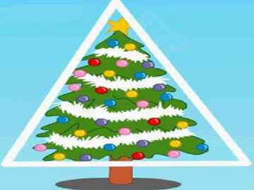 c ist für Weihnachtsbaum - lmnopqrstuvwxyzlmnop