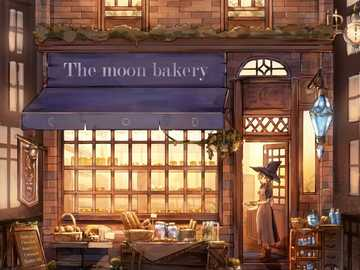 Moon Bakery - Bakery with cute witch