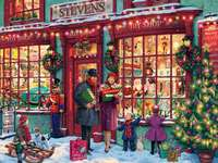 Christmas shopping - Puzzle Christmas shopping