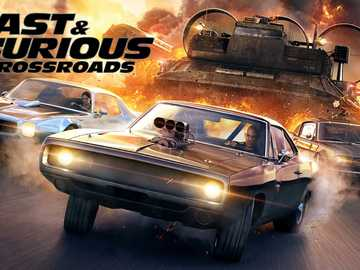 Fast furious crossroads - Wallpaper Fast Furious Game