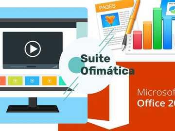 SUITE OFIMÁTICA - Ofimática, a veces también llamado burótica,  designa al conjunto de técnicas, aplicaciones y