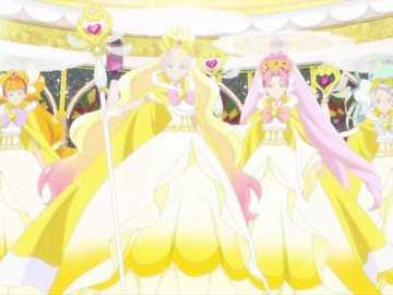 宏偉 公主 (Gran princesa) - 第十二 部 GO Princess 光 之 美 少女 , 把 由 先前 獲得 的 17 把 裝扮 鎖匙 再�