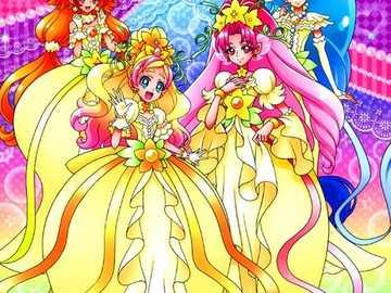 萬聖節優雅模式(Mode Elegant・Halloween) - 僅出現於劇場版《 Go!Princess光之美少女 Go!Go!!豪華三部曲!!!》。將