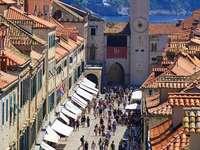 Dubrovnik Horvátország Dalmácia