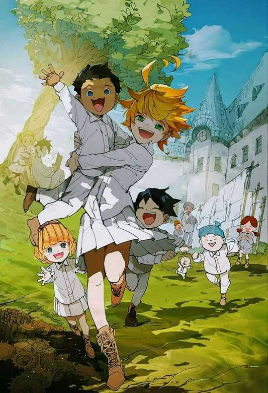 The promised neverland - Complete the puzzle the promised neverland (6×9)