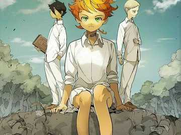 The promised neverland - Complete the puzzle the promised neverland