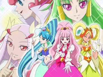 上 一代 (前任) 的 光 之 ط 少女 - Aller! Princesse : 前任 人魚 天使 、 前任 花 神 天使 、 前任 閃亮 天使 。Hear