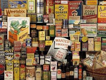 Vintage Brands 40's - Puzzle vintage brands