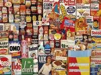 Marki vintage z lat 60 - Puzzle vintage marek
