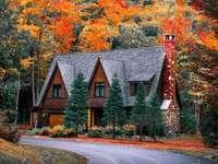 Dům v bílých horách v New Hampshire - Dům v bílých horách v New Hampshire