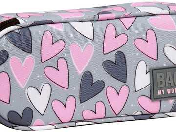 pencil case with hearts - m ............................