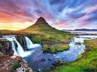 Kirkjufell, Izland