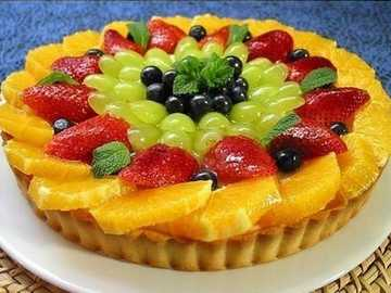 tarte aux fruits - m ......................