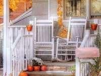 Decorațiuni de toamnă pe verandă - Decorațiuni de toamnă pe verandă