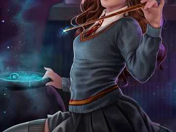 Animali fantastici - Hermione Granger, Magic, sfida