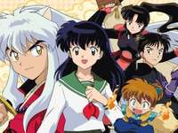inuyasha - inuyasha is a half beast man who goes in search of the pearl of shikon with his friends